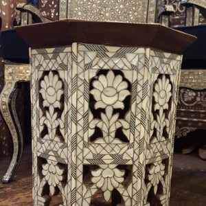fully inlaid table 021