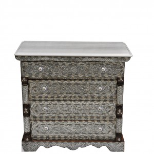 Syrian_mother-of-pearl_inlaid_four_drawers