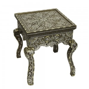 Rectangular walnut Wood_inlaid_end_Table,_Layla